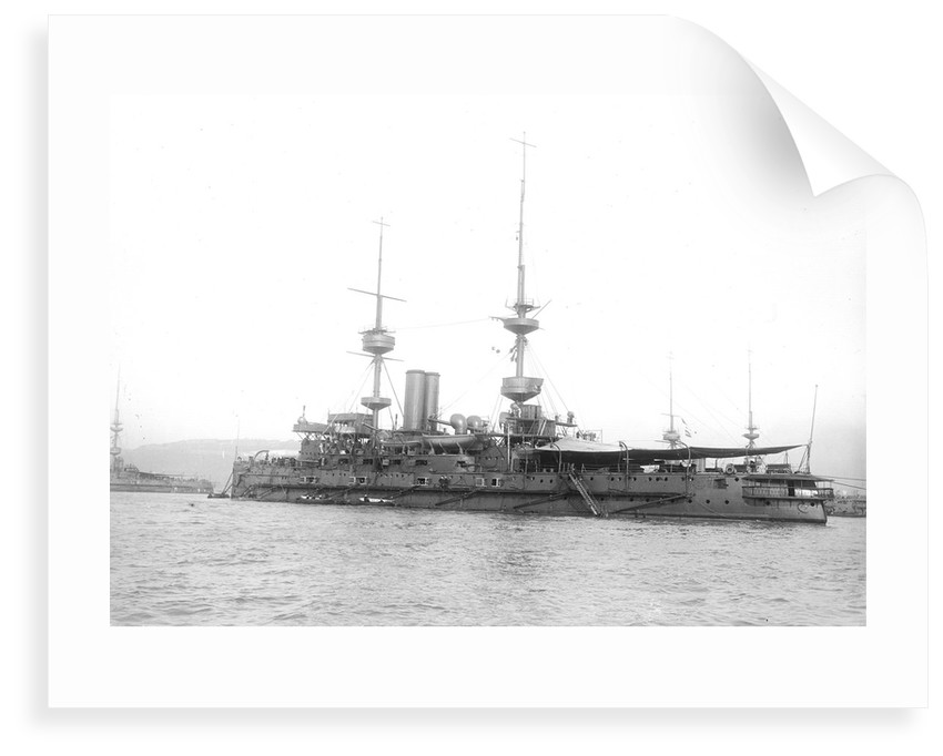 HMS 'Caesar' (1896), battleship by unknown