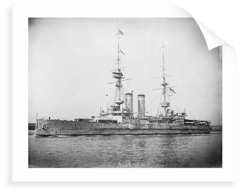 HMS 'Albemarle' (1901) battleship by unknown