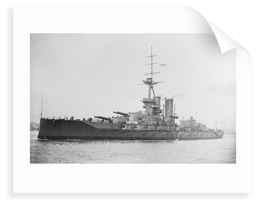 Battleship, HMS 'Iron Duke' (1912) by unknown