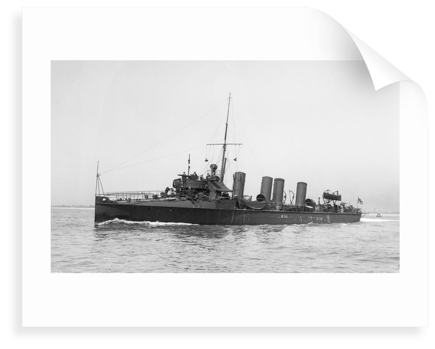 Torpedo boat destroyer HMS 'Arab' (1901) by unknown