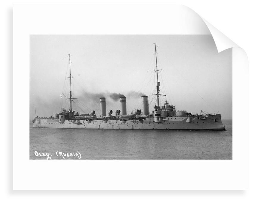Protected cruiser 'Oleg' (Ru, 1903) by unknown