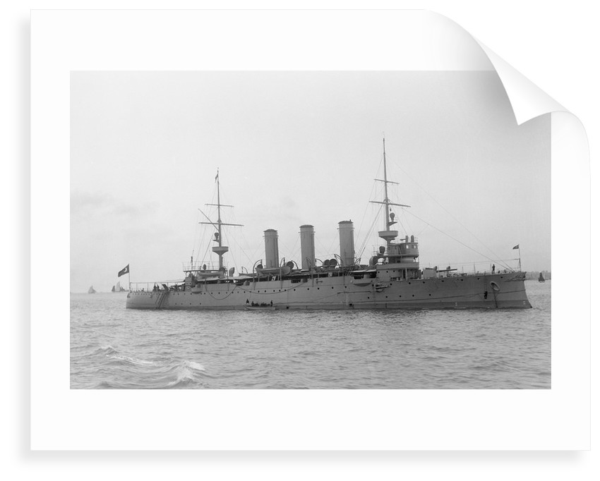 Protected cruiser 'Hamidieh' (Tu, 1903) by unknown
