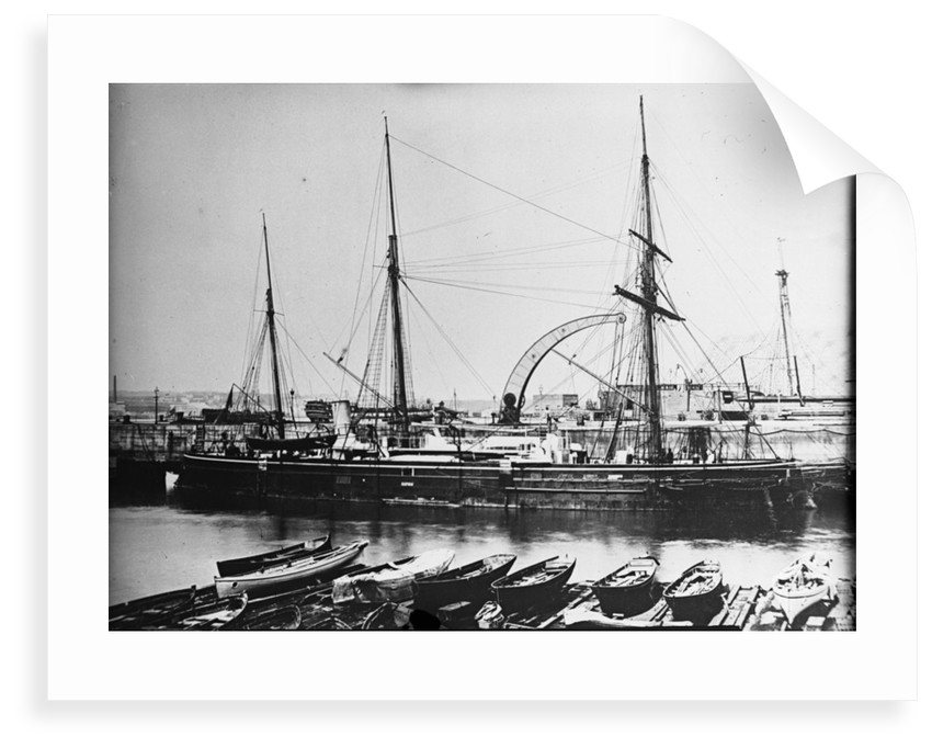 A starboard bow view of 'Waterwitch' (1865) by unknown