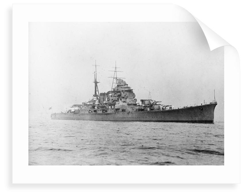 The cruiser 'Chokai' (Japan, 1931) by unknown