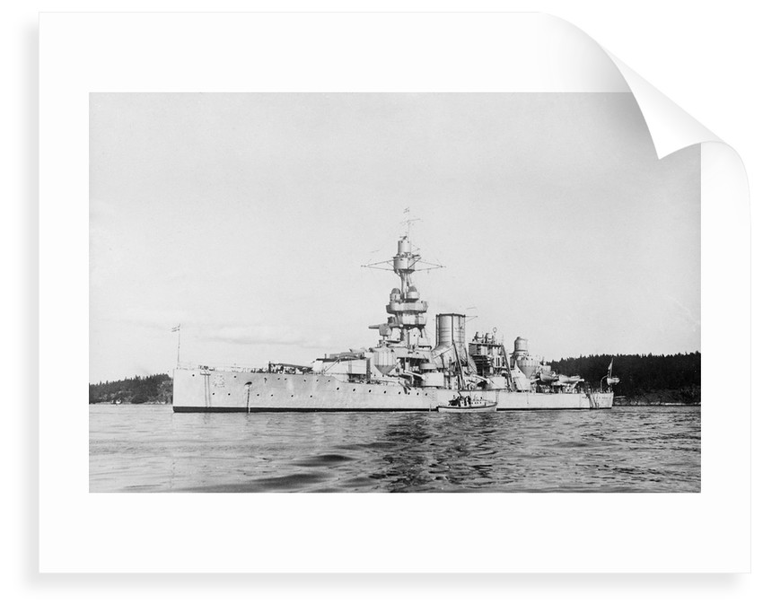 Coast defence battleship 'Gustaf V' (Swe, 1918) by unknown
