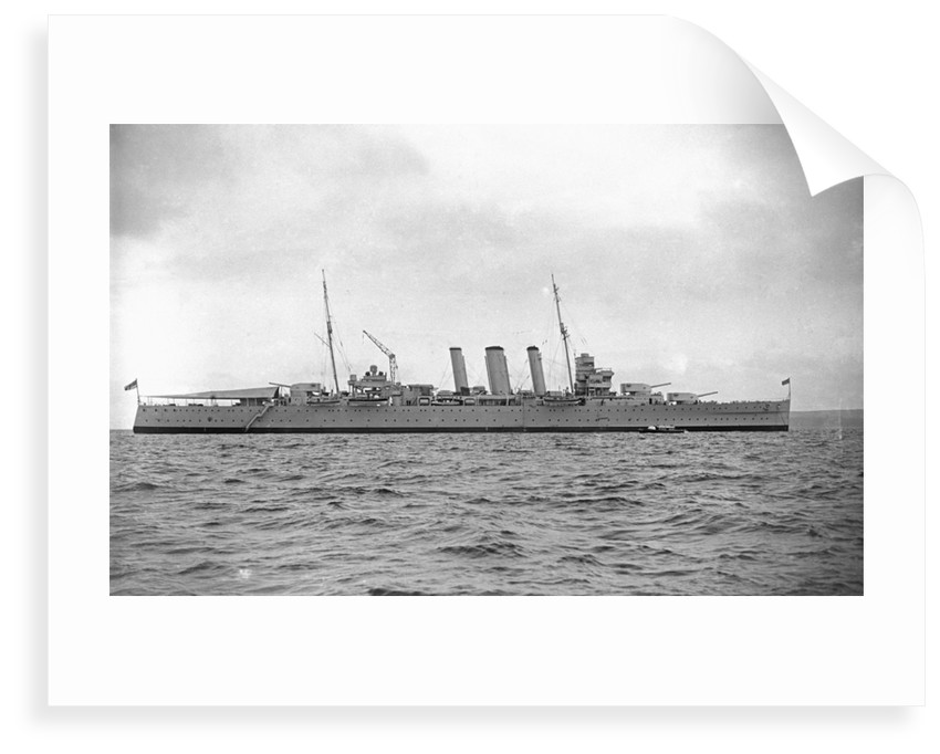 Heavy cruiser HMS 'Australia' (1927) by unknown