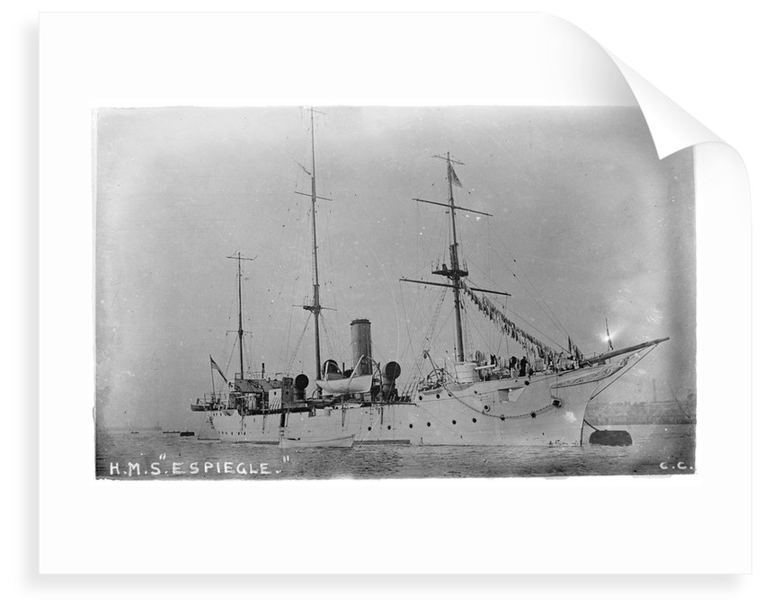 HMS 'Espiegle' (1900) by unknown