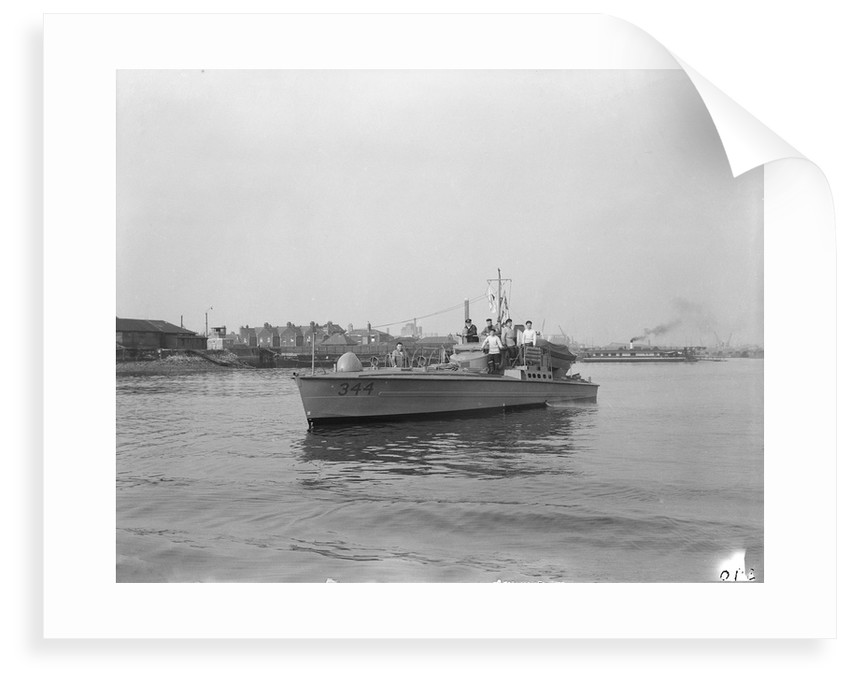 A port bow view of MTB 344 (1942) by unknown