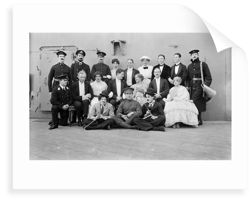 HMS 'Queen Elizabeth' (1913), the gunroom concert party by unknown