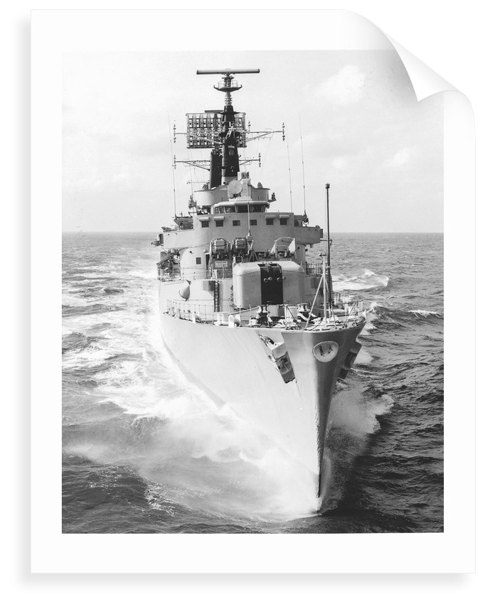 HMS 'Antrim', a County-class guided-missile destroyer by unknown