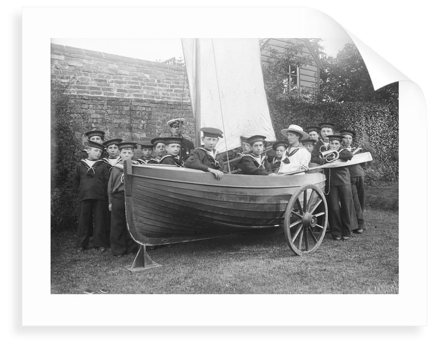 Naval Brigade, Tarry Adams Collection. by unknown