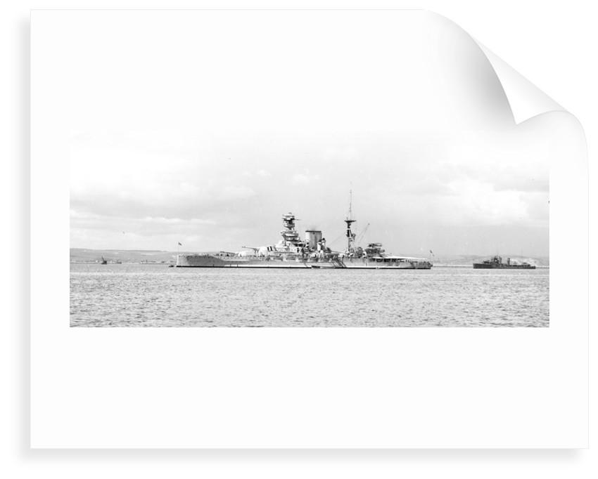 HMS 'Barham' (1914) by unknown