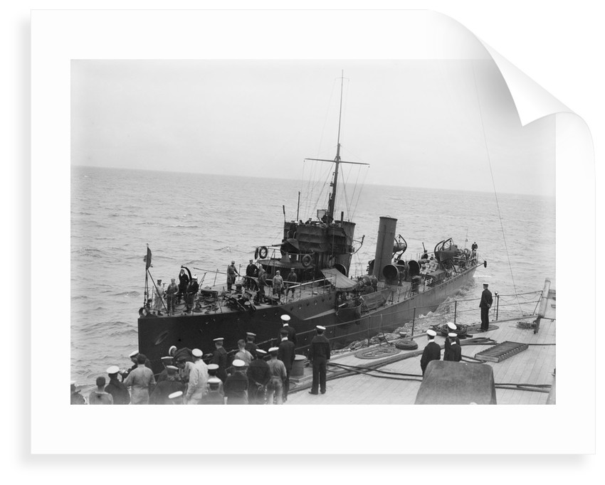 Torpedo boat destroyer HMS 'Kennet' (1903) by unknown