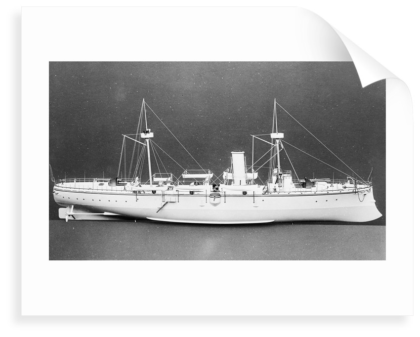 Protected cruiser 'Chih Yuan' (China, 1886) by unknown