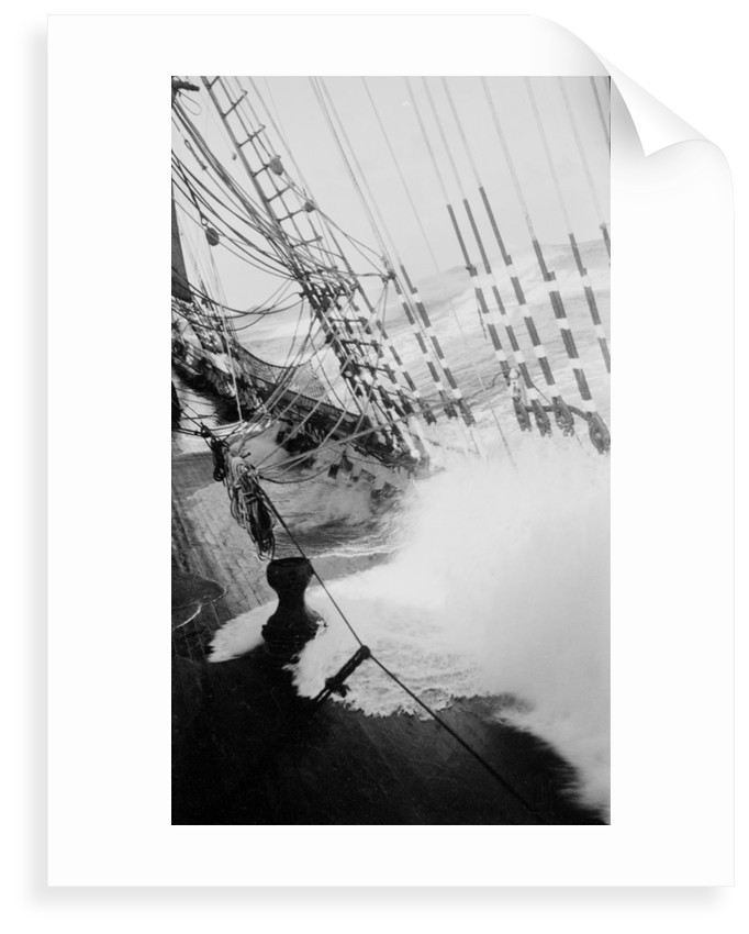 Under sail in heavy weather by Alan Villiers