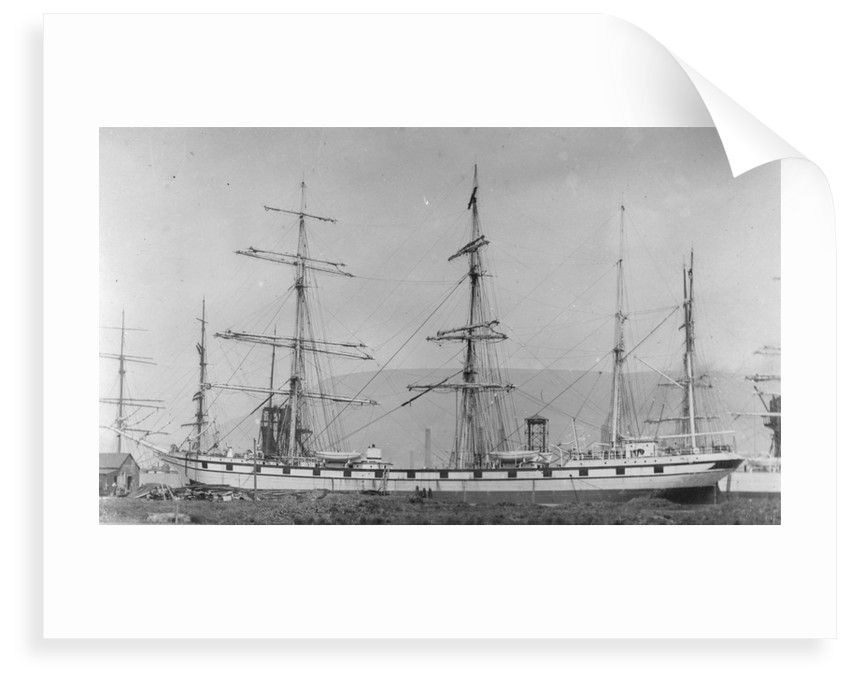 'Amiral Troude' (Fr, 1897) at quayside by unknown