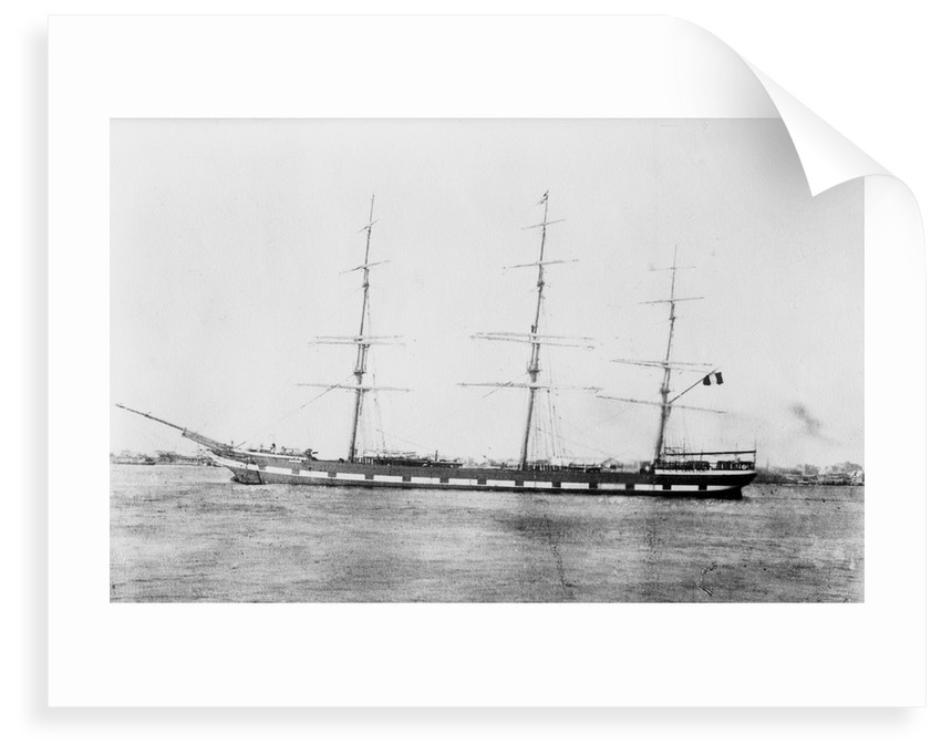 'Narcissus' (Br, 1876) 3 masted ship, R.R. Paterson & Co by unknown