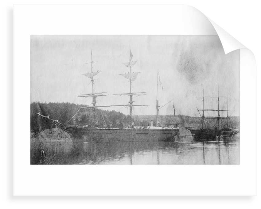 3 masted barque 'Queen of the East' (1853) at Moss by unknown