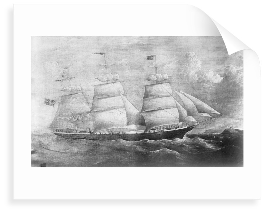 'Rebus' (No, 1860), 3 masted ship, ex 'Queen of the Ocean', J  L Ugland by unknown