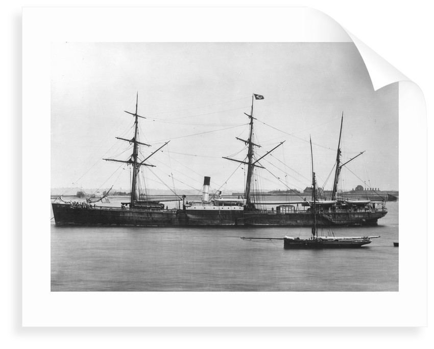 Cargo steamer SS 'Agamemnon' (1865) by unknown