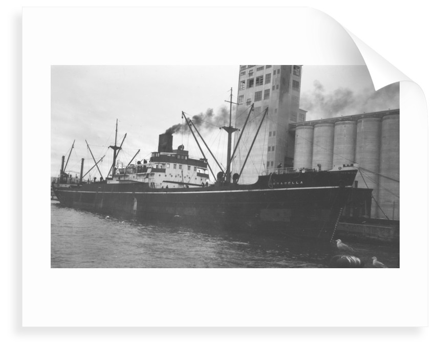 'Corabella' (Br, 1937), at quayside by unknown