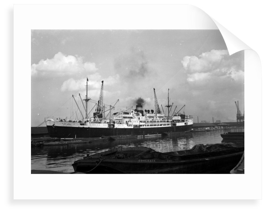 Passenger/cargo steamer the 'Jal-Azad' (Br, 1948), launched as 'El Hind' Scindia Steam Navigation Co Ltd. by unknown