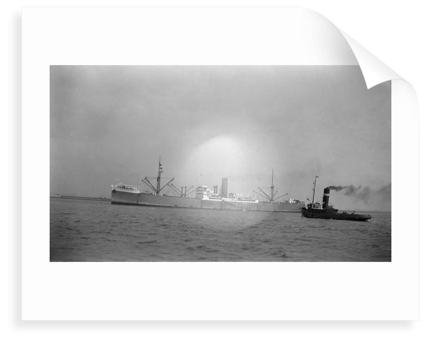 'Port Nicholson' (Br, 1919), underway off Gravesend by unknown