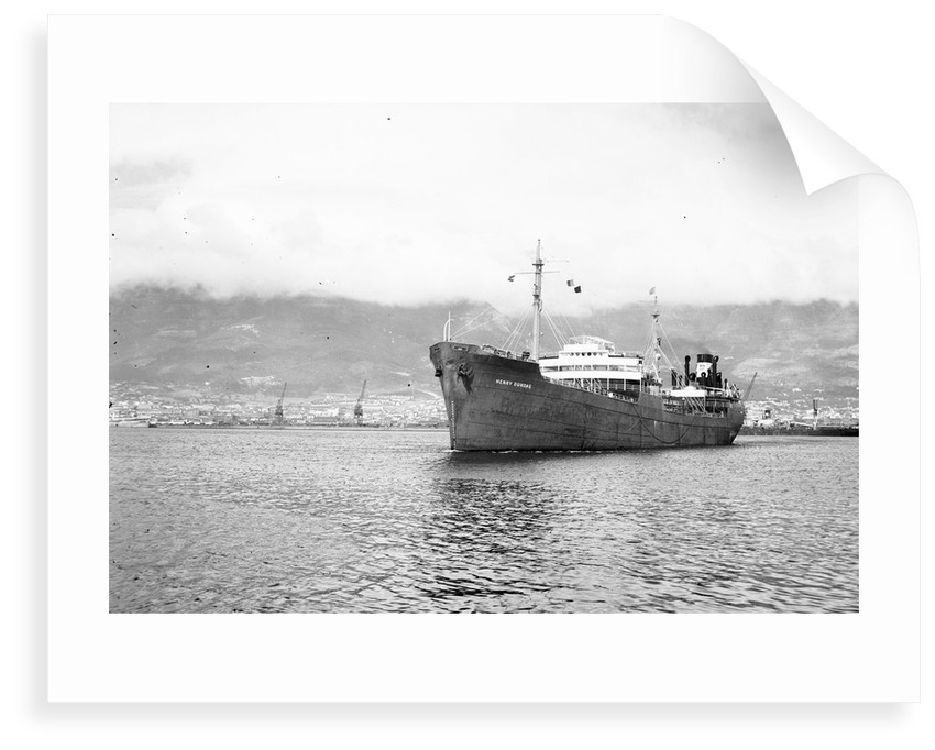 'Henry Dundas' (Br, 1937) in Cape Town Harbour by Anonymous