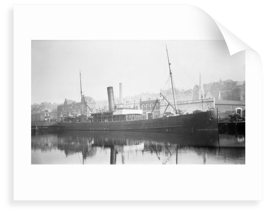 'Skerryvore' (Br, 1898) at quayside, Cork by unknown