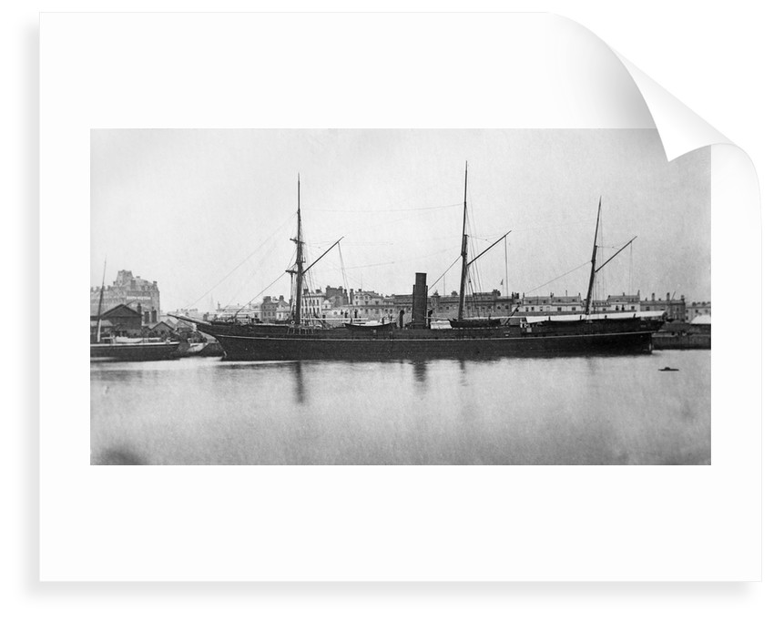 SS 'Simla' near the Outer Dock at Southampton by unknown