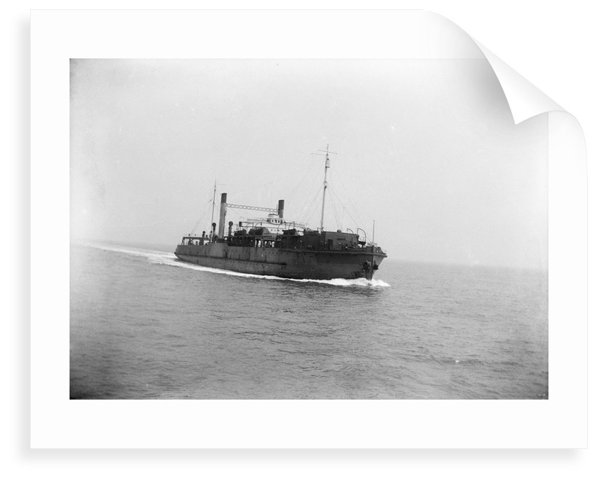 Starboard bow view of Train Ferry No. 2 (1917) by unknown