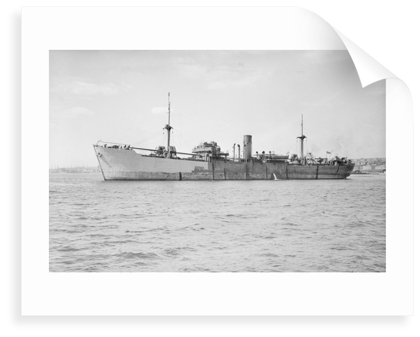Photograph of general cargo vessel 'Baron Semple' (1939) under way in 1941-1943 by unknown