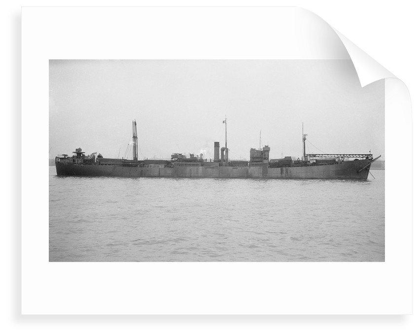 'Empire Heath' (Br, 1941), at anchor by unknown