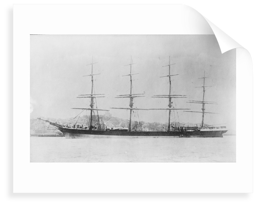 'Drumburton' (Br 1881), at anchor by Anonymous