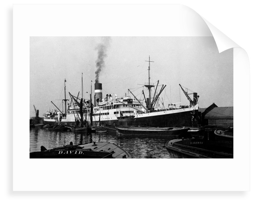 'City of Cairo' (Br, 1915), at quayside by unknown