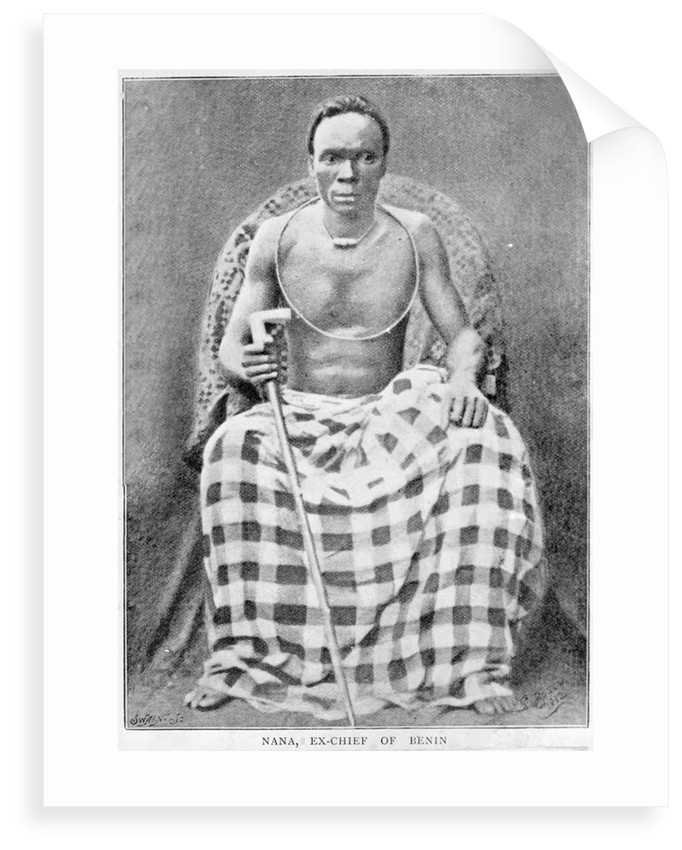 Photograph of Chief Nana Olomu by unknown