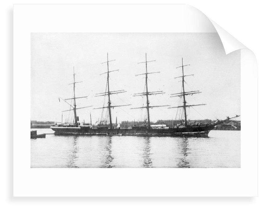 Photograph of Trafalgar built 1877 in port by unknown