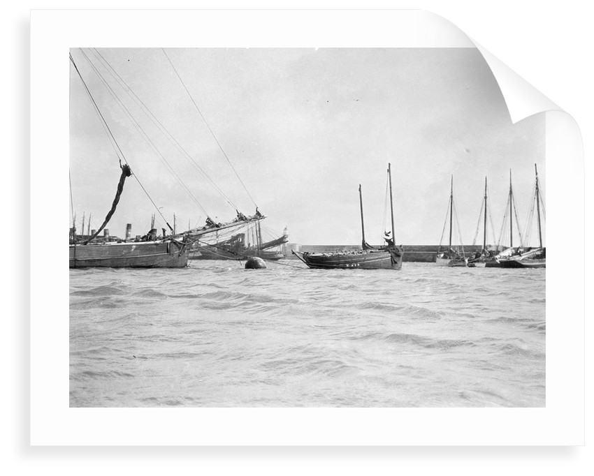 Douarnenez lugger by unknown