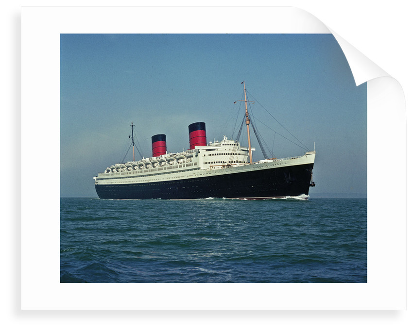 Cunard liner RMS 'Queen Elizabeth II' (1940) by unknown