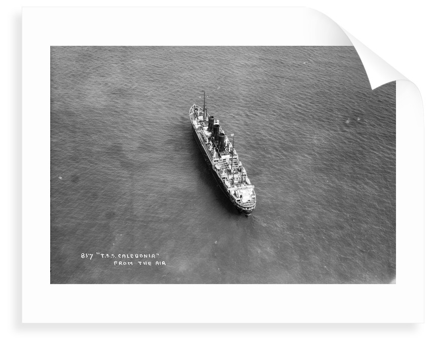 Aquitania by Marine Photo Service