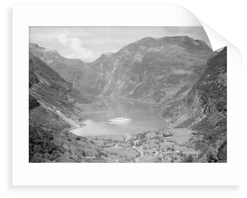Geirangerfjord, Norway by Marine Photo Service