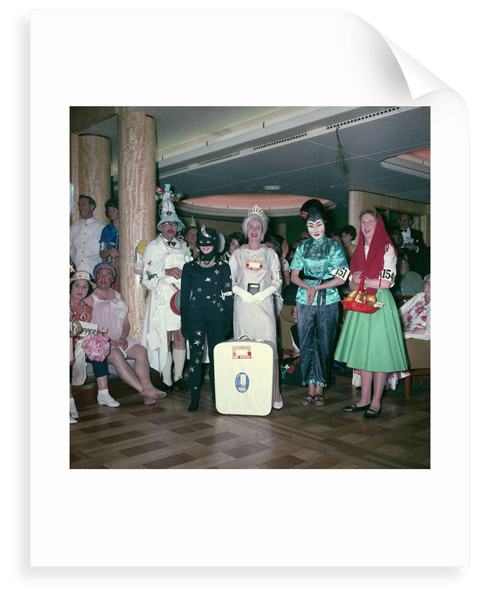 Fancy dress party aboard the 'Empress of Canada' by Marine Photo Service