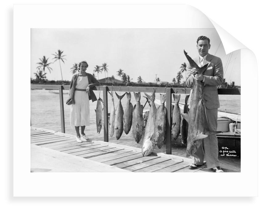 A fine catch at Nassau by Marine Photo Service