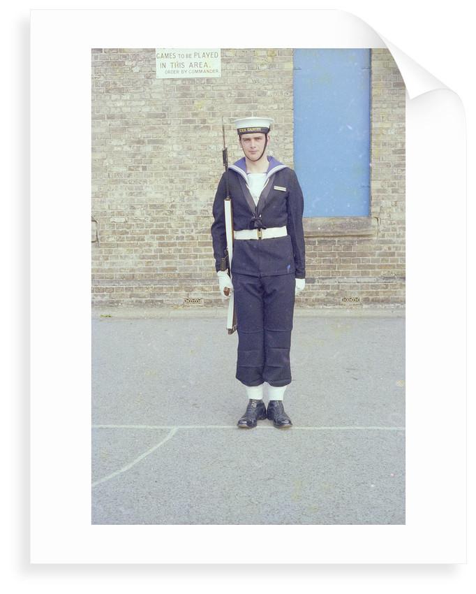Portrait of Simon Baines, HMS Ganges, 6th June 1976 by Reginald Arthur Fisk
