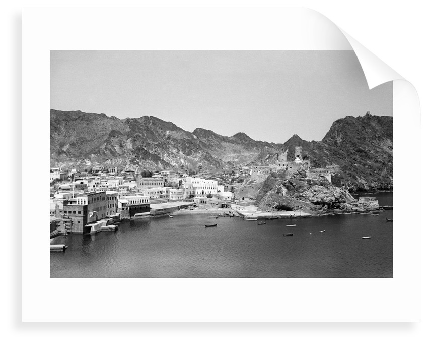 Muscat coastline by Alan Villiers
