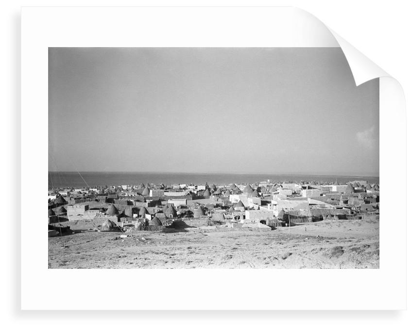 General view of Jizan by Alan Villiers