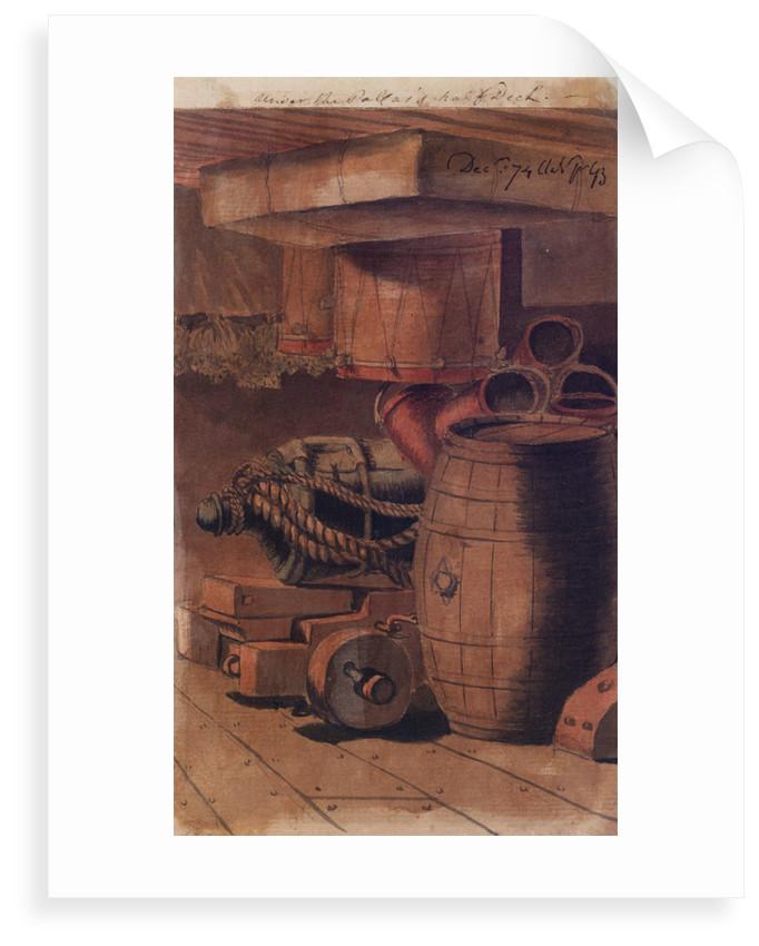 Under the 'Pallas's' half deck by Gabriel Bray