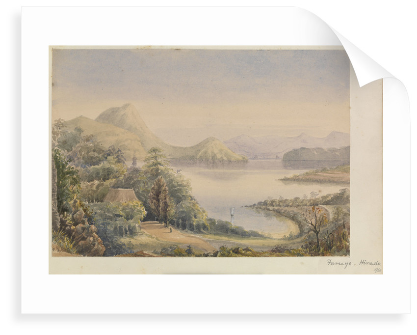 'Furuye, Hirado' [Japan] by James Henry Butt