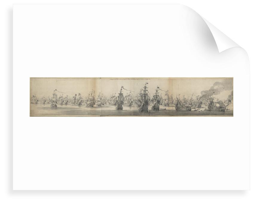 Battle of Solebay by Willem van de Velde the Elder