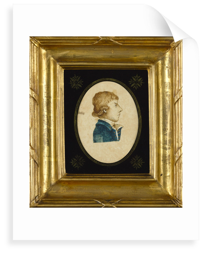 Horatio Nelson drawn by Cuthbert Collingwood when both were serving in the West Indies by Cuthbert Collingwood